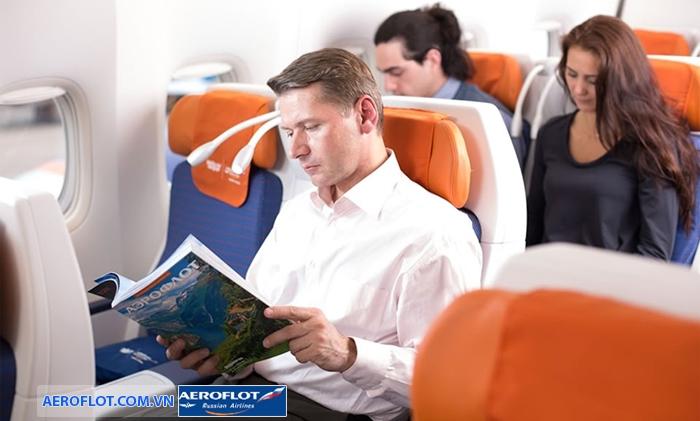 Hành khách bay với Aeroflot