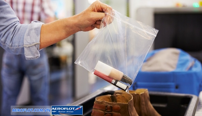 Hành lý là chất lỏng