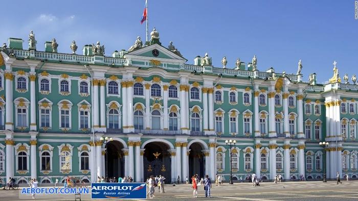 Cung điện mùa đông nước Nga