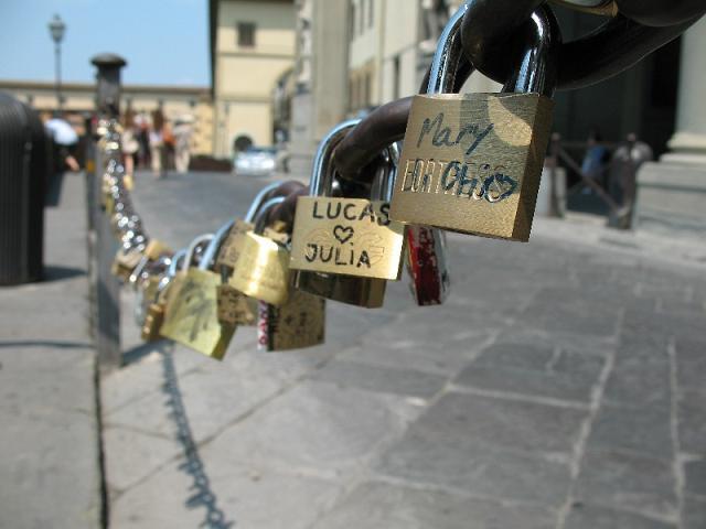 Cầu Ponte Vecchio móc khóa