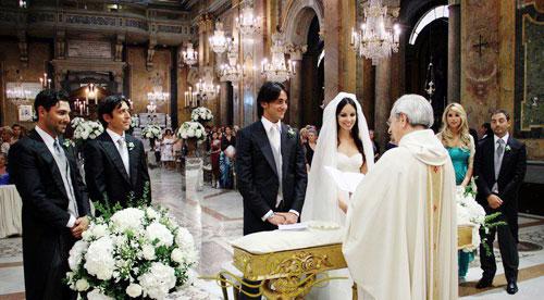 lễ cưới Nga