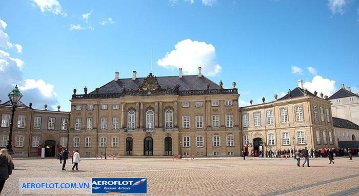 Tòa cung điện Amalienborg