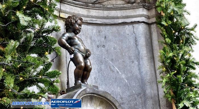 Bức tượng chú bé tè Manneken Pis