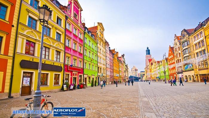 Thời tiết Ba Lan đẹp, thuận lợi cho những chuyến tham quan