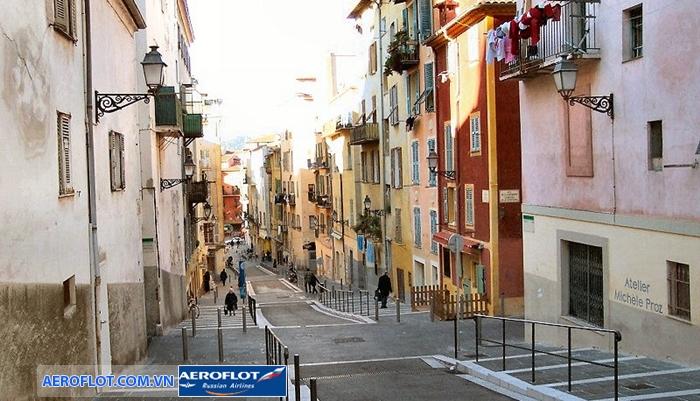 Khu phố cổ Vieille Ville de Nice
