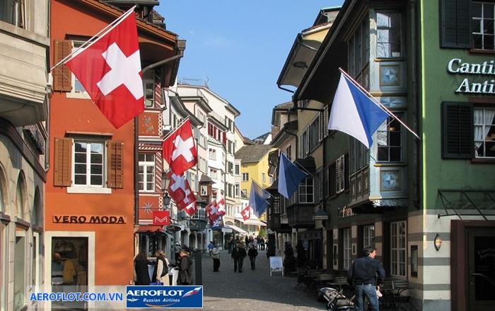 Khu phố cổ ở Zurich