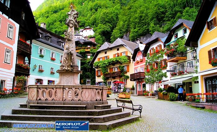 Thị trấn Hallstatt