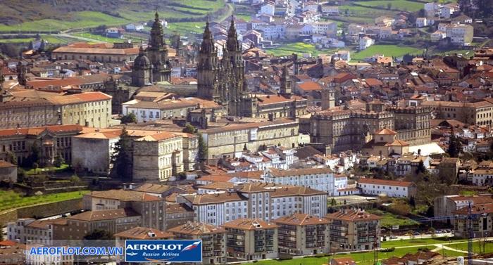 Thành phố Santiago de Compostela