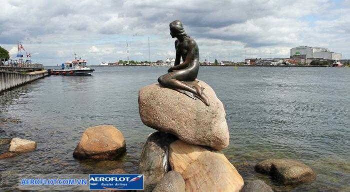 Bức tượng nàng tiên cá