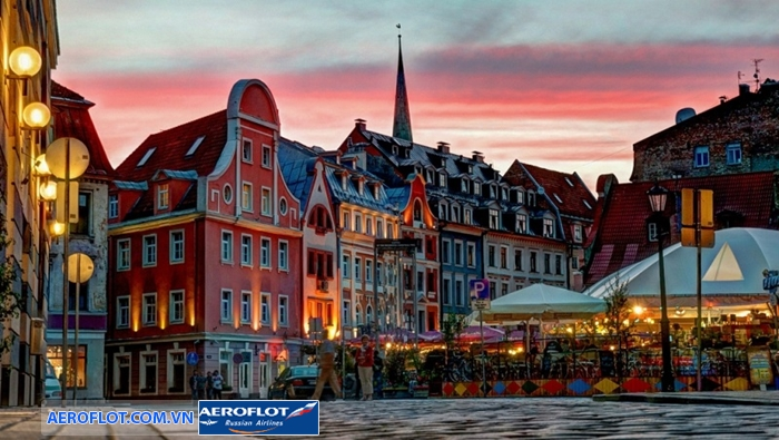 Đêm trắng thành phố Riga