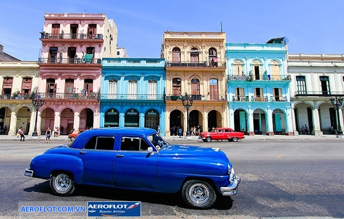Khám phá kiến trúc Old Havana