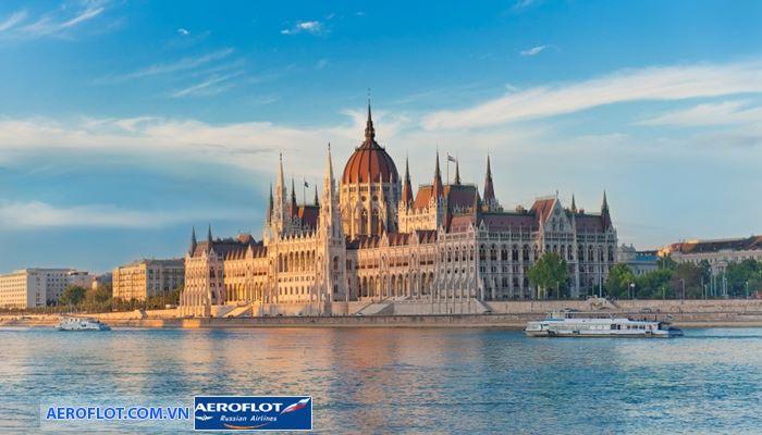 Tòa nhà quốc hội Budapest