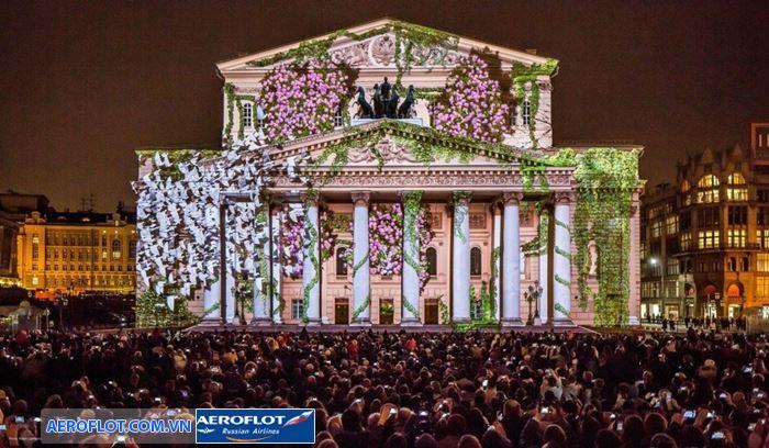 Festival vòng tròn ánh sáng Moscow