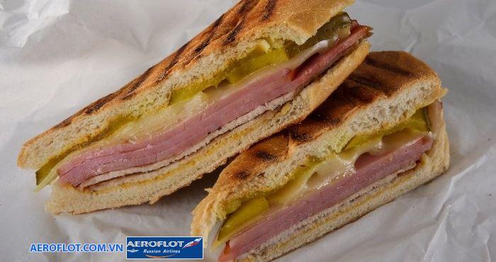 Món bánh Cuba Sandwich rất thơm ngon hấp dẫn
