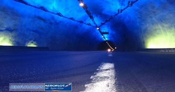 Đường hầm Laerda là đường hầm dài nhất thế giới