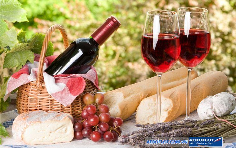 Rượu vang nước Pháp!
