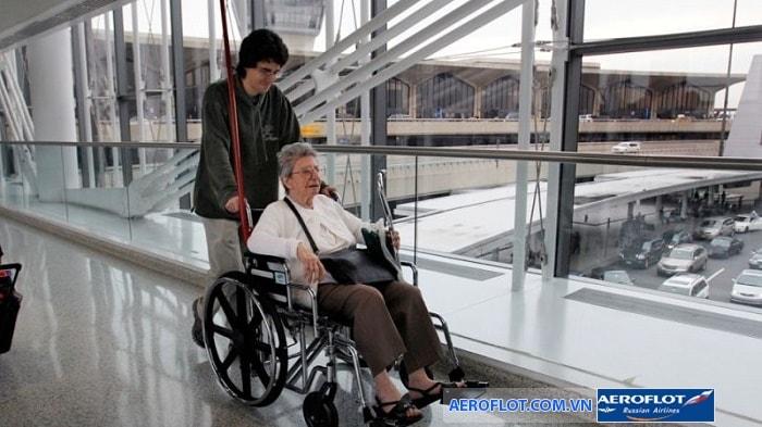 Aeroflot cung cấp dịch vụ hỗ trợ nguoif khuyết tật