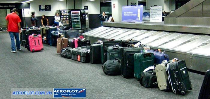 Hành lý ký gửi Aeroflot