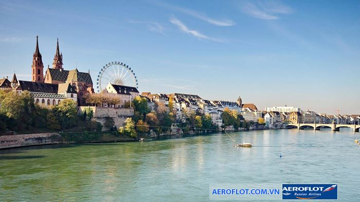 Basel thành phố đứng thứ 2 của Thụy  về kinh tế