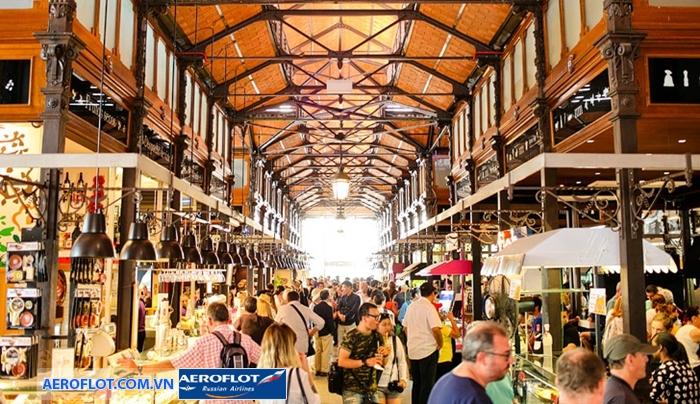 Chợ Mercado de San Miguel