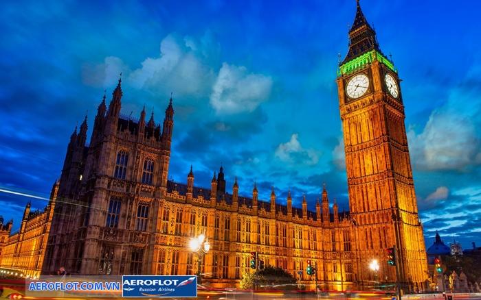 Tháp đồng hồ Big Ben