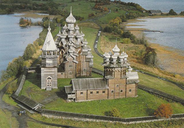 Nhà thờ gỗ cao nhất thế giới Kizhi Pogost