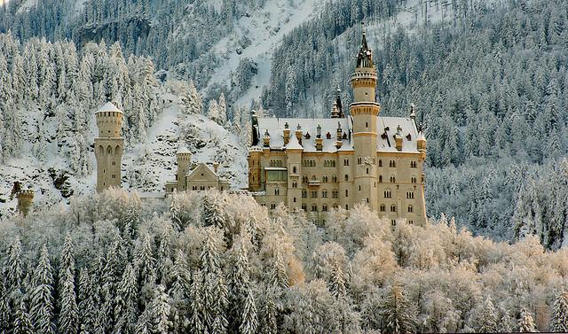 Chiêm ngưỡng lâu đài Neuschwanstein tuyệt đẹp
