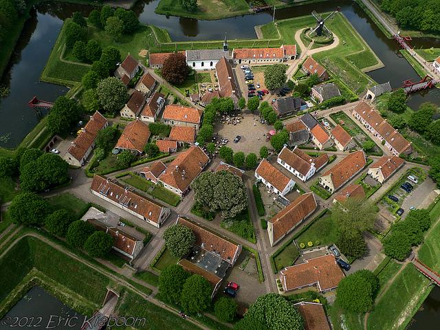 Tham quan pháo đài hình ngôi sao Bourtange