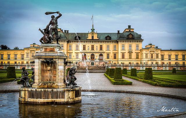 Chiêm ngưỡng cung điện Drottningholm