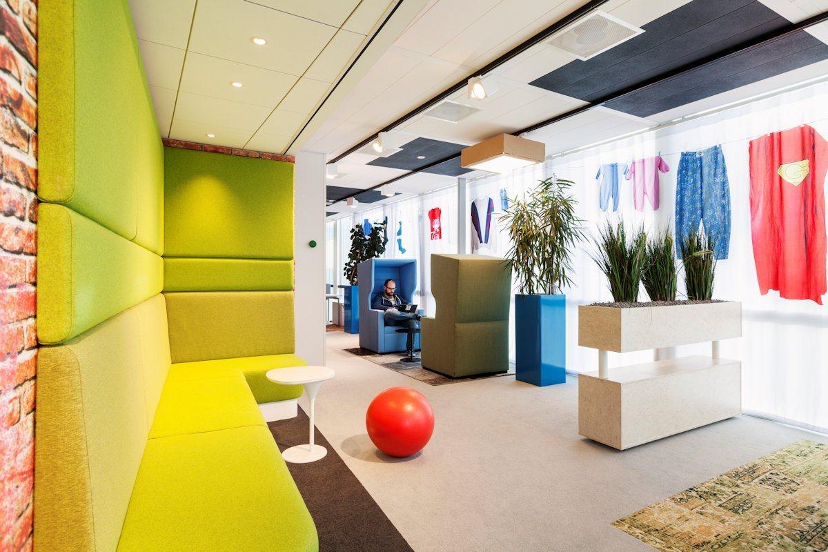 Kiến trúc Google độc đáo ở Amsterdam
