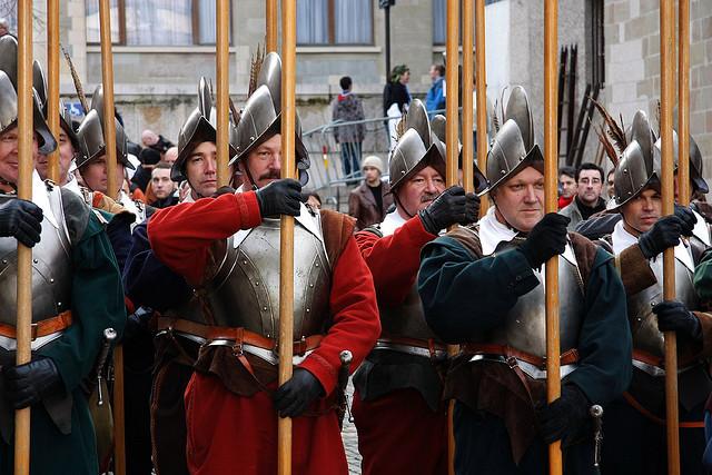 Tưng bừng ngày lễ Escalade ở Thụy Điển