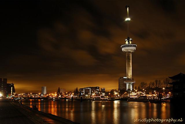 Thành phố cảng Rotterdam tuyệt đẹp