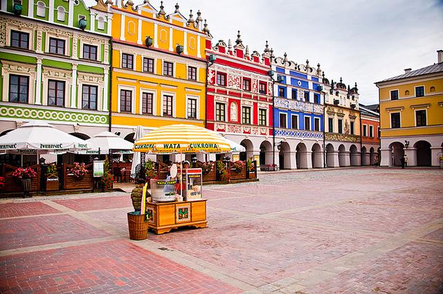 Thăm thị trấn cổ Zamosc độc đáo ở Ba Lan