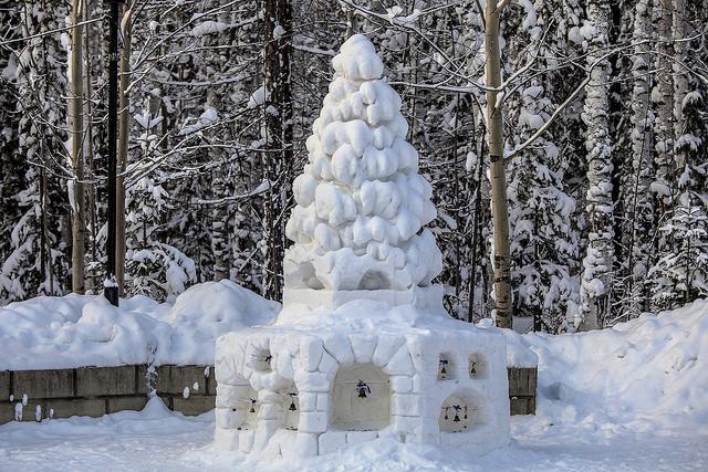 Vẻ đẹp huyền ảo mùa đông nước Nga