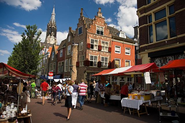 Vi vu tại thiên đường mua sắm Hà Lan