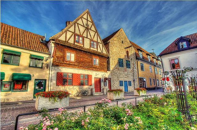 Du ngoạn thị trấn trung cổ Visby
