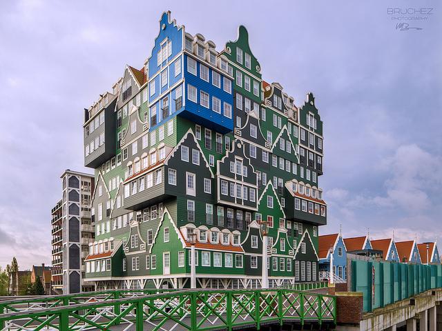 Khách sạn độc đáo tại thị trấn Zaandam