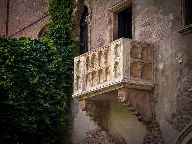 Đến Verona thăm nhà nàng Juliet