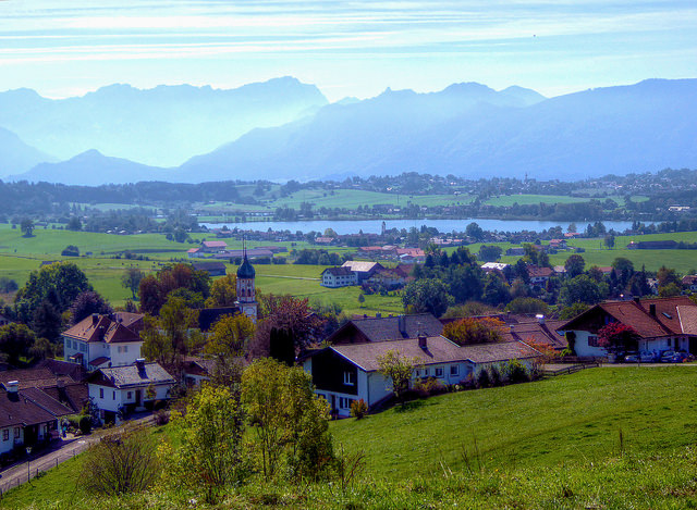 Phố núi bình yên thơ mộng nước Đức