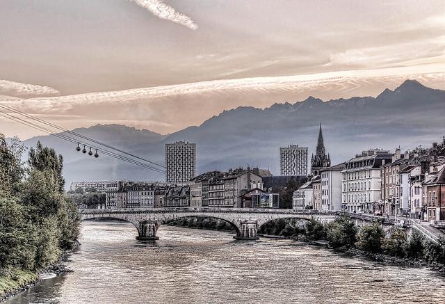 Grenoble - phố núi yên bình của nước Pháp
