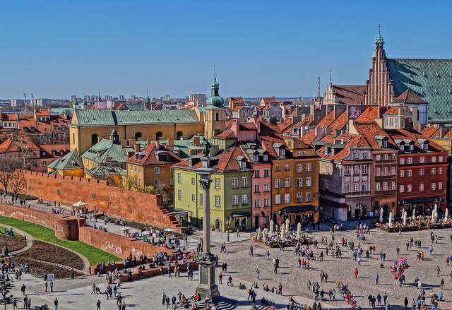 Thủ đô Warszawa - niềm tự hào của Ba Lan