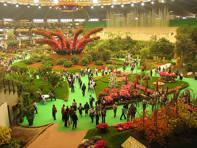Genoa Euroflora event international