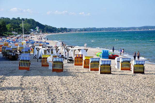 Những bãi biển tuyệt đẹp ở nước Đức