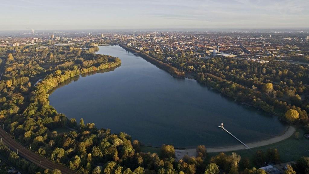 Hồ nước nhân tạo Maschsee