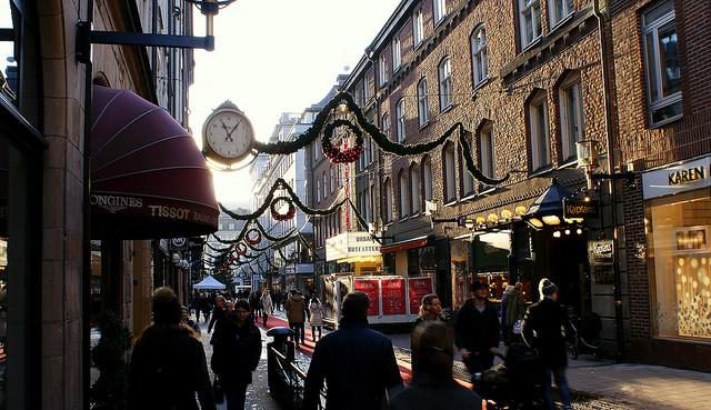 Những khu vực mua sắm nổi tiếng ở Stockholm