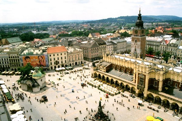 Thành phố cổ Krakow