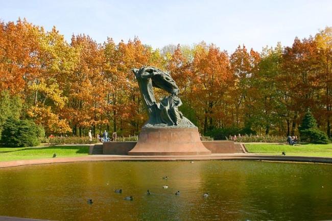 công viên Hoàng gia Lazienki