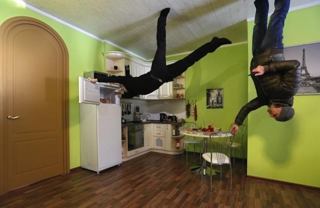 nhà bếp ngược