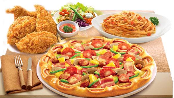 Pizza và mỳ Ý là 2 món ẩm thực đặc trưng nơi đây