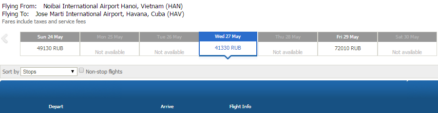 HN-Havana Aero